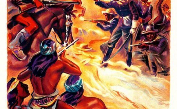 """Affiche du film """"Le Massacre De Fort Apache"""""""