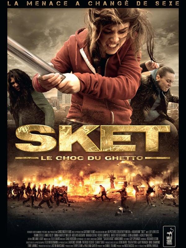"""Affiche du film """"Sket, le choc du ghetto"""""""