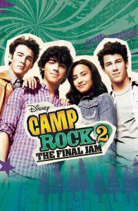 """Affiche du film """"Camp rock 2 - Le face à face"""""""