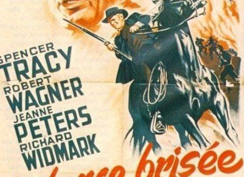 """Affiche du film """"La Lance brisée"""""""