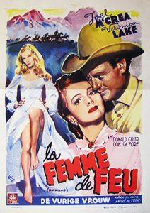 """Affiche du film """"Femme de feu"""""""