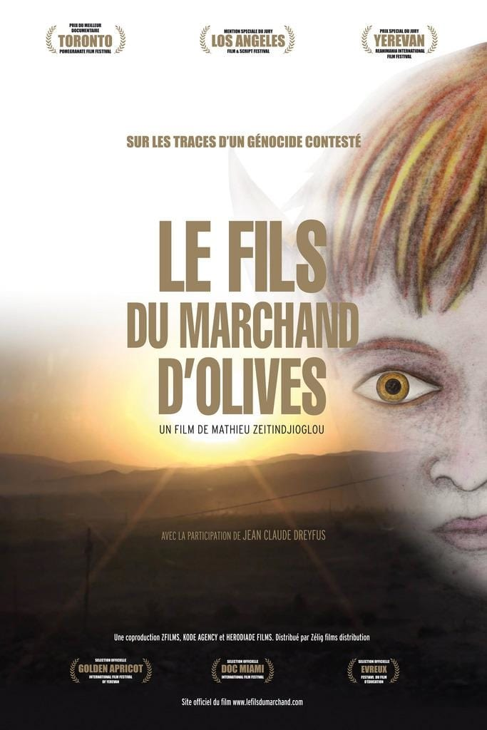 "Affiche du film ""The Son of the Olive Merchant"""