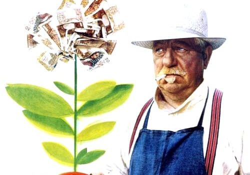 """Affiche du film """"Le Jardinier d'Argenteuil"""""""
