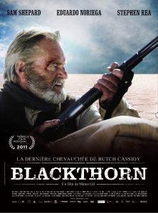 """Affiche du film """"Blackthorn, la dernière chevauchée de Butch Cassidy"""""""