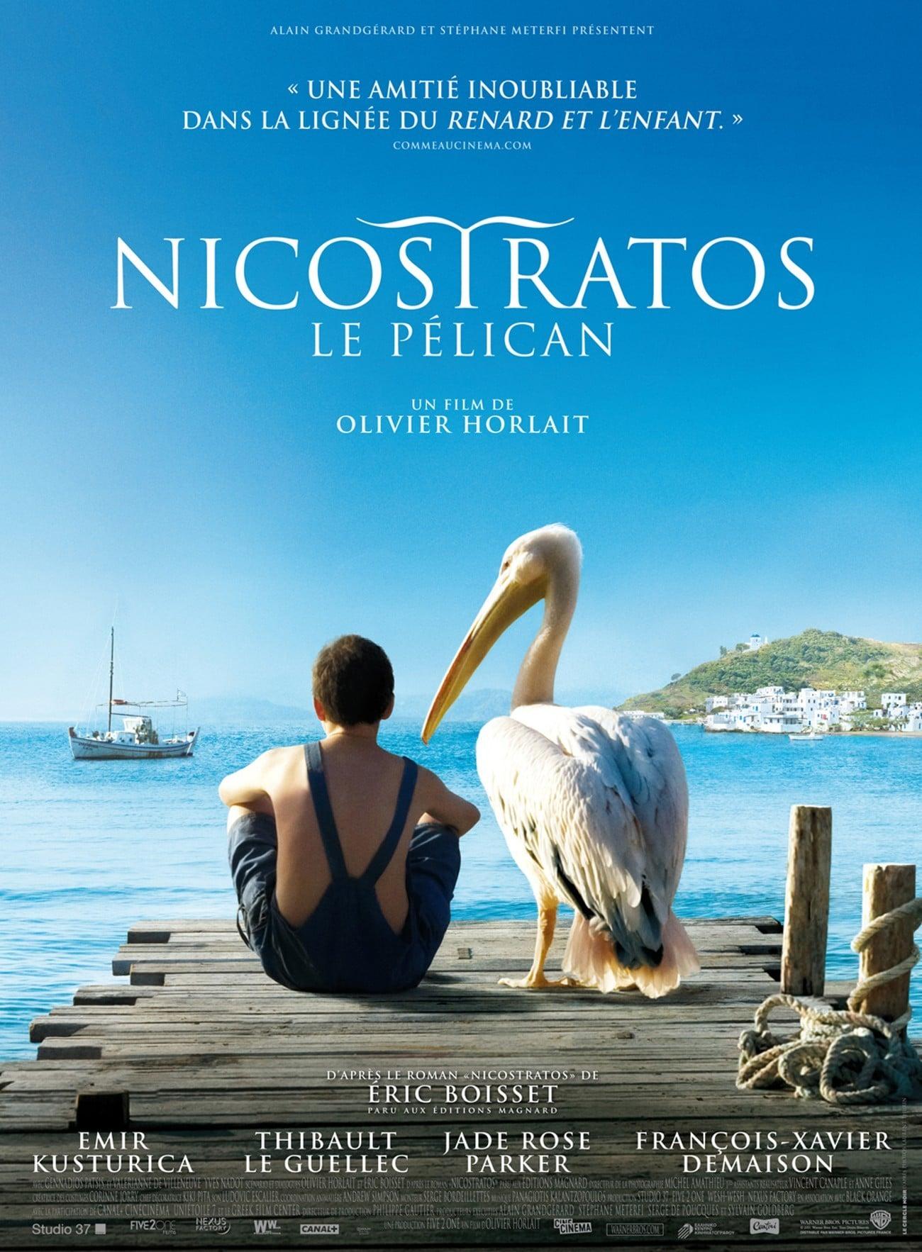 """Affiche du film """"Nicostratos le pélican"""""""