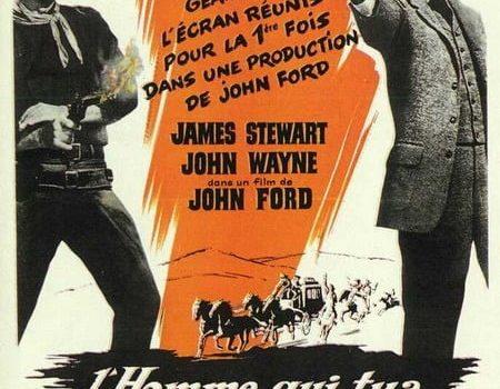 """Affiche du film """"L'homme qui tua Liberty Valance"""""""