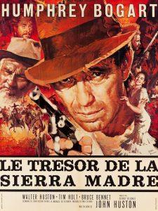 """Affiche du film """"Le Trésor de la Sierra Madre"""""""