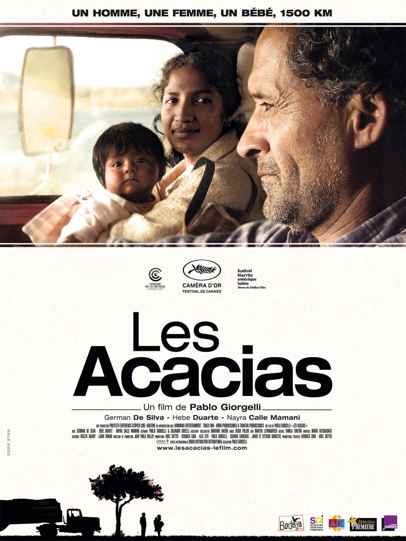 """Affiche du film """"Les acacias"""""""