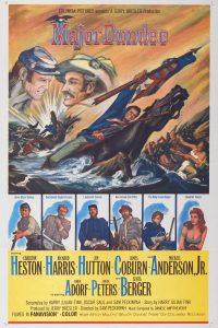 """Affiche du film """"Major Dundee"""""""