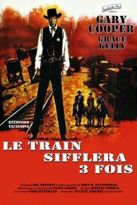 """Affiche du film """"Le train sifflera 3 fois"""""""