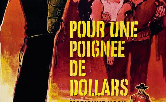 """Affiche du film """"Pour une poignée de dollars"""""""