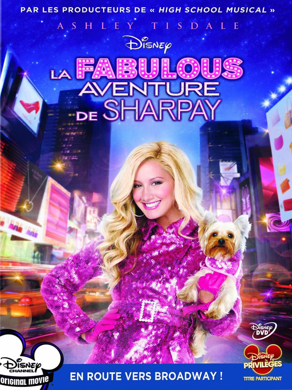 """Affiche du film """"La Fabulous Aventure de Sharpay"""""""