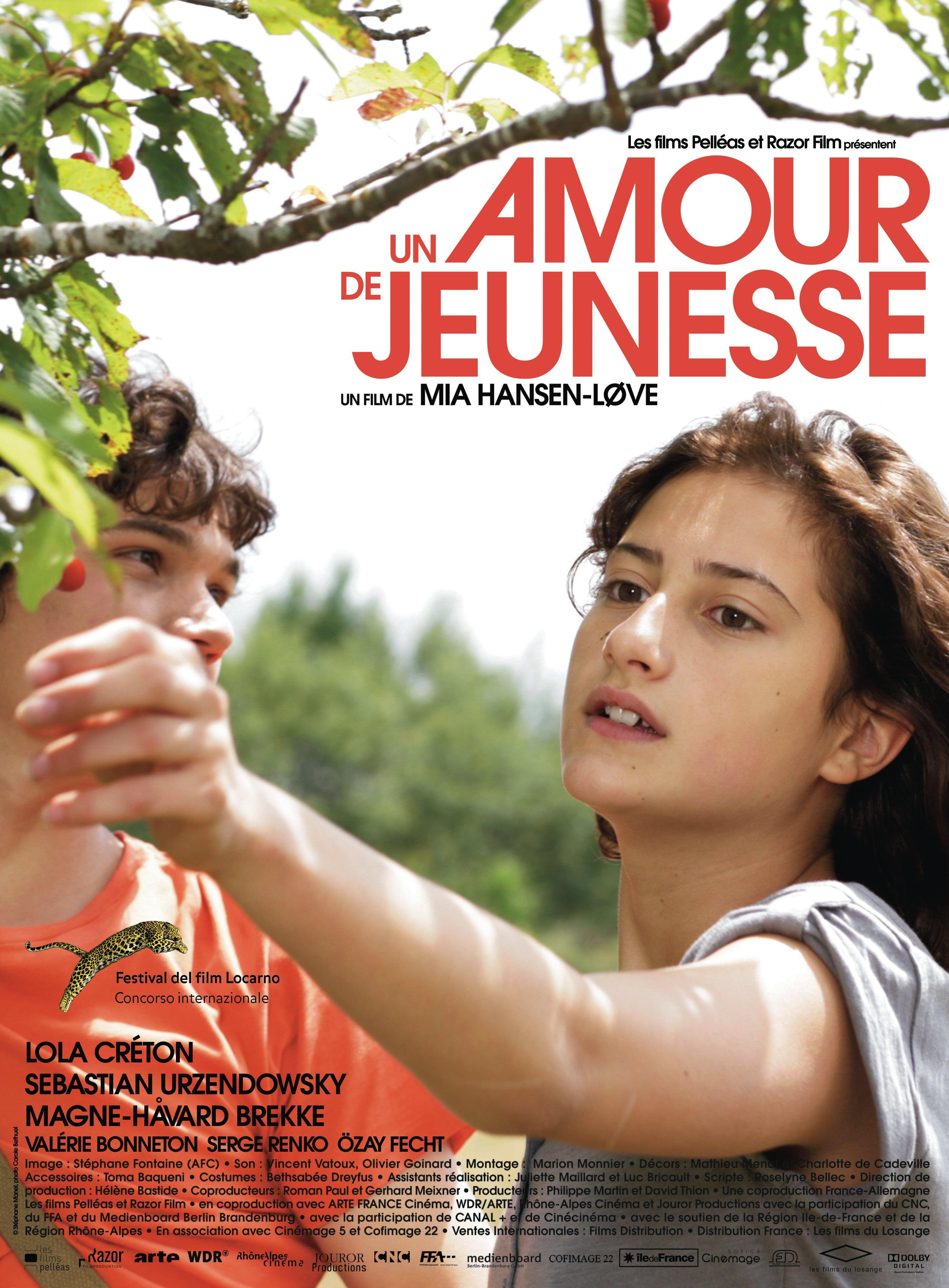 """Affiche du film """"Un amour de jeunesse"""""""