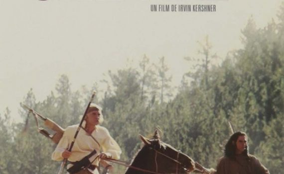 """Affiche du film """"La revanche d'un homme nommé Cheval"""""""