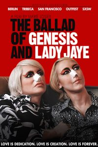 """Affiche du film """"The Ballad of Genesis and Lady Jaye"""""""