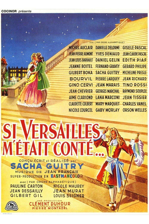 """Affiche du film """"Si Versailles m'était conté"""""""