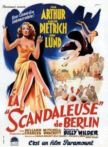 """Affiche du film """"La Scandaleuse de Berlin"""""""