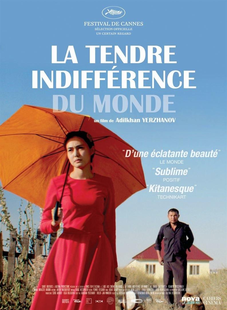 """Affiche du film """"La Tendre indifférence du monde"""""""