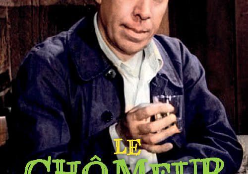 """Affiche du film """"Le Chômeur de Clochemerle"""""""