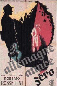 """Affiche du film """"Allemagne année zéro"""""""