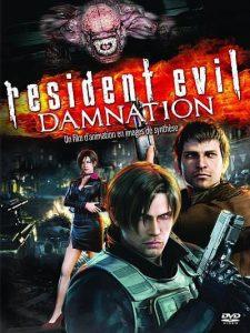 "Affiche du film ""Resident Evil : Damnation"""