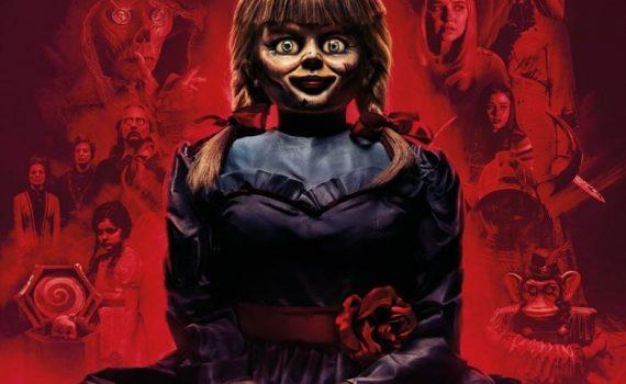 """Affiche du film """"Annabelle : La maison du Mal"""""""