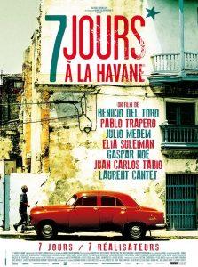 """Affiche du film """"7 jours à la Havane"""""""