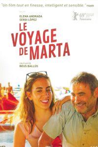 """Affiche du film """"Le voyage de Marta"""""""