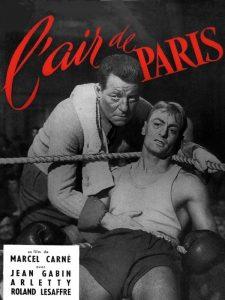 """Affiche du film """"L'air de Paris"""""""