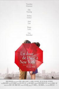 """Affiche du film """"Un Jour de pluie à New York"""""""