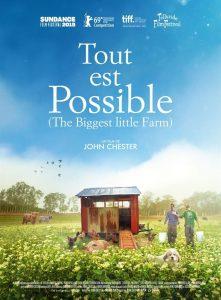 """Affiche du film """"Tout est possible (The Biggest Little Farm)"""""""