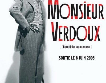 """Affiche du film """"Monsieur Verdoux"""""""