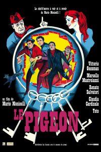 """Affiche du film """"Le pigeon"""""""