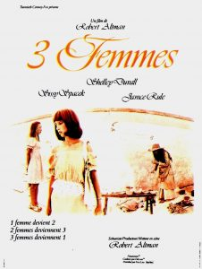 "Affiche du film ""3 femmes"""