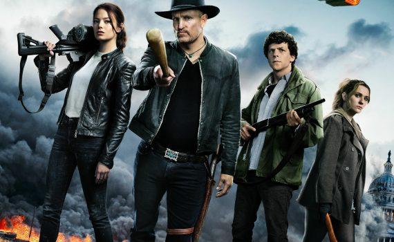 """Affiche du film """"Retour à Zombieland"""""""