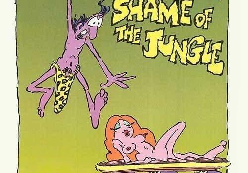 """Affiche du film """"La honte de la jungle"""""""