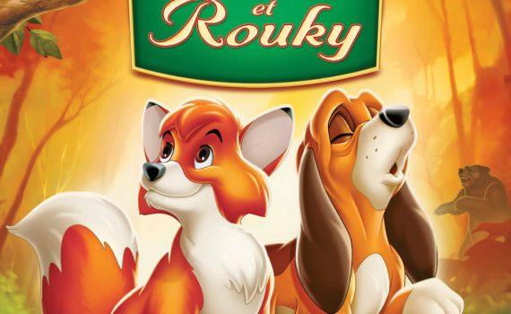 """Affiche du film """"Rox et Rouky"""""""