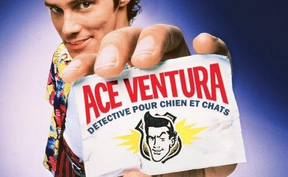"""Affiche du film """"Ace Ventura, détective chiens et chats"""""""