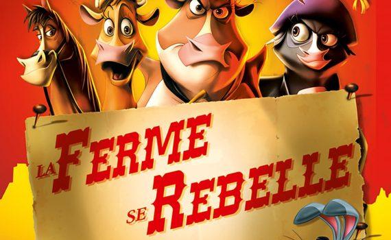"""Affiche du film """"La ferme se rebelle"""""""