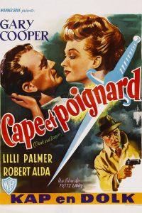 """Affiche du film """"Cape et poignard"""""""