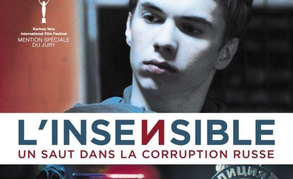 """Affiche du film """"L'Insensible"""""""