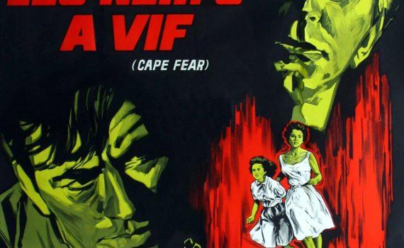 """Affiche du film """"Les Nerfs à vif"""""""