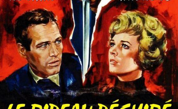 """Affiche du film """"Le Rideau déchiré"""""""
