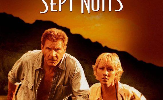 """Affiche du film """"Six jours Sept nuits"""""""