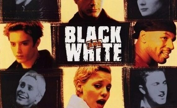 "Affiche du film ""Black and White"""