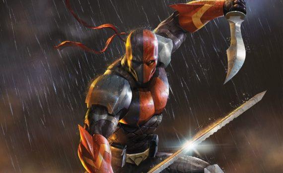 "Affiche du film ""Deathstroke: Knights & Dragons - The Movie"""