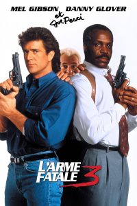 """Affiche du film """"L'arme fatale 3"""""""