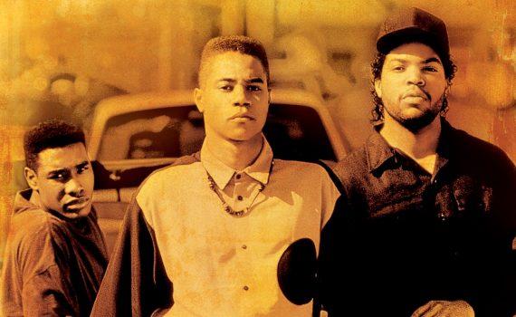"Affiche du film ""Boyz n the Hood : La loi de la rue"""