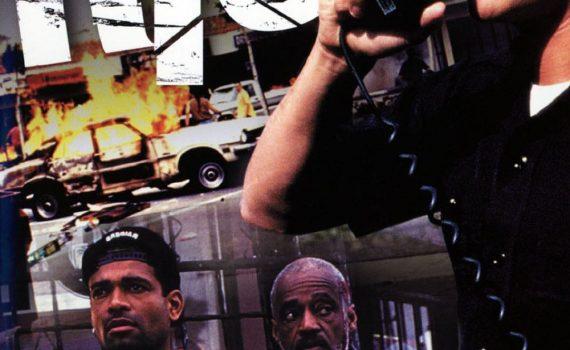 """Affiche du film """"L.A. 29/04/1992 Emeutes à Los Angeles"""""""