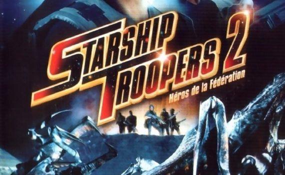 """Affiche du film """"Starship Troopers 2 : Héros de la Fédération"""""""